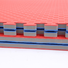 3,0 см высокая плотность Ева голубого красного цвета татами