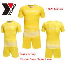 2017 wholeasle thai qualité football jersey personnalisé votre logo uniforme de football