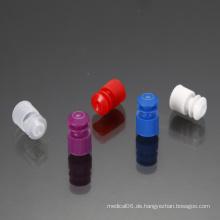 Kunststoff-Schlauchflansch-Verschlusskappe mit 13mm Durchmesser