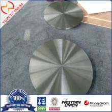 ASTM B381 F5 Placa forjada de titanio