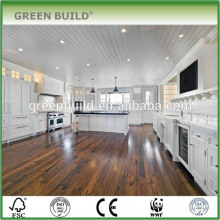 8mm Coffee Color Laminate Oak Wood Flooring