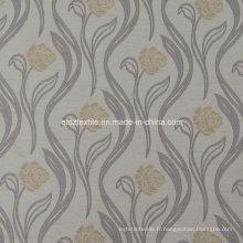 Tissu de rideau personnalisé en couleur