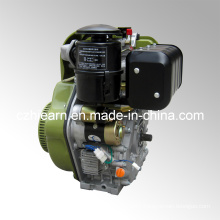 Air-Cooled Diesel Engine Luxury Type Army Green Color (HR188FAE)