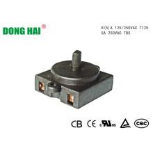 Microinterruptor de contacto Interruptor giratorio
