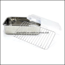 Stainless Steel Square Roast Pan