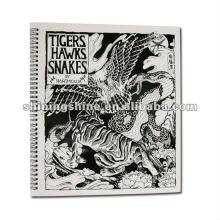 2016 hot sale professional animal design tattoo book