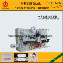 Máquina ultrasónica de fabricación de máscaras de vapor para ojos