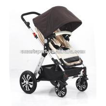 Bom carrinho de bebê com liga de alumínio