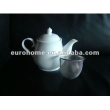 Chinese restaurant teapot with sieve T010