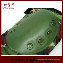 Airsoft protector almohadillas sistemas táctico combate codo rodilleras para juego de Paintball