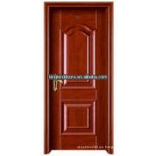 Mejor venta puerta interior madera acero King-06(K) para el diseño de la puerta Interior de 1 mejor marca de fábrica China