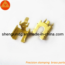 Precision Copper Electric Terminals Parts (SX054)