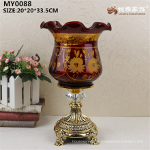Christmas decorative glass jar antique style glass jar for reading table