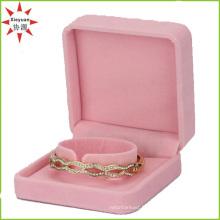 Belle boîte en velours velours pour bijoux