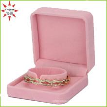 Красивый пользовательский бархат браслет Box для ювелирных изделий