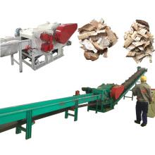 Optional capacity coconut husk crusher chips making cutting machine
