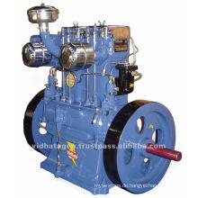 20 PS Lister Typ Diesel Motor