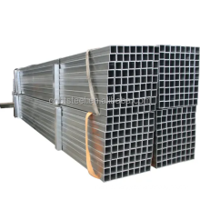 low price Welded Carbon Steel Galvanized Rectangular Square Steel Tube for Building Material
