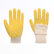 Flimsy Short Latex Safety Gloves Durable