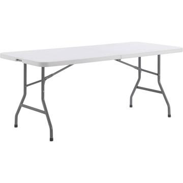Silla plegable de acero plástico y tabla