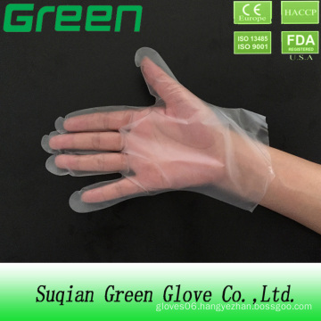 Disposable Plastic Polyethylene CPE Gloves (ISO, CE certificated)