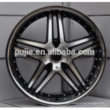 22x8.5 22x9 5x120 deep dish alloy wheels