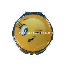 Espelho de maquilhagem moda Emoji bonito Design barato
