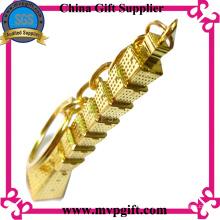Металлический брелок для рекламных подарков (m-MK45)