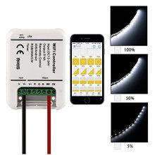 Controlador remoto dos canais de DC 12-24V WIFI 5 para a luz de tira do diodo emissor de luz do RGB com preço de fábrica