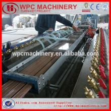 Holz Kunststoff WPC Profil Fertigungslinie / WPC Board Maschine / WPC Decking Extruder Linie / WPC Maschine