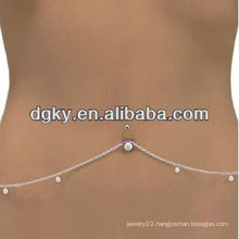 Bespoke Fashion Belly Dance Chain Ring Body Chain