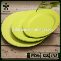 plant bamboo fibre melamine salad bowls set tableware