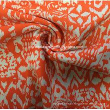 Tecido de impressão laranja para roupas esportivas (HD1401101)