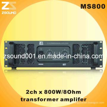 Усилитель 800w с трансформатором питания Ms800