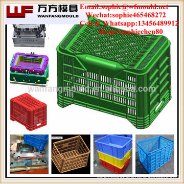 Stackable laundry basket mould/China supply quality products plastic injection laundry baskets mold