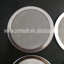 20micron stainless steel filter disk with edge
