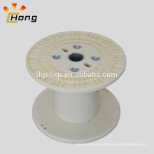 bobina de plástico vacía para cable de cable eléctrico
