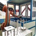 DFC system for sun visor grinding