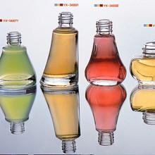 Botellas de vidrio de esmalte de uñas