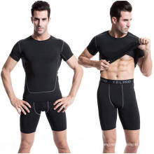 Men Sports T-Shirt Fitness Clothing Activewear Short-Sleeve