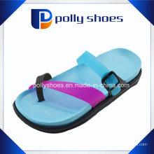 Новая Конструкция двойной Подошва EVA тапочки модные Леди сандал