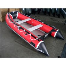 CE 3,6 m China PVC dobrável inflável barco a Motor