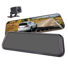 Smart Touch Srceen DVR 1080P Vehicles Waterproof Car Electronic Rearview Mirror Car Black Box Dash Camera