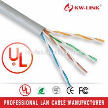 Cable de cobre desnudo de Cat5e del cobre de la alta calidad UTP
