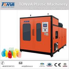 Plastik Extruder Automatische HDPE Flasche Blasmaschine