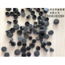 Chapas plásticas de verbo de cogumelo Placa de plástico Inser Buraco de cofragem