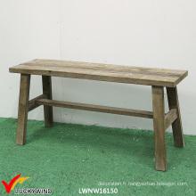 Chaise de mobilier d'ameublement antique antique Banc de jardin en bois