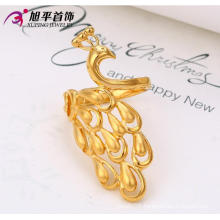New Design Xuping Fashion Beautiful Peafowl Ring