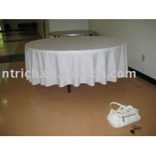 100 % polyester nappe, couverture de table Hotel/Banquet