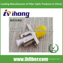 Fiber Optic Hybrid Adapter LC-ST simplex metal type